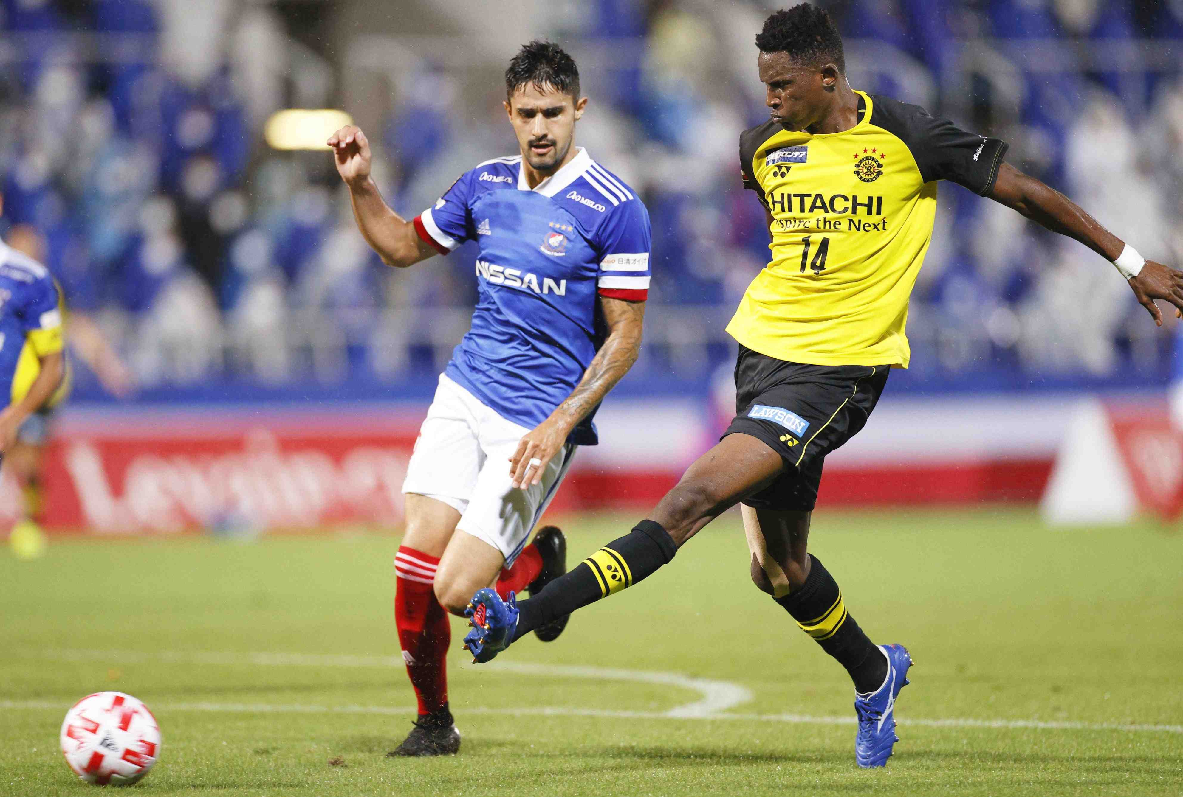 Kahiwa Reysol's Michael Olunga 013
