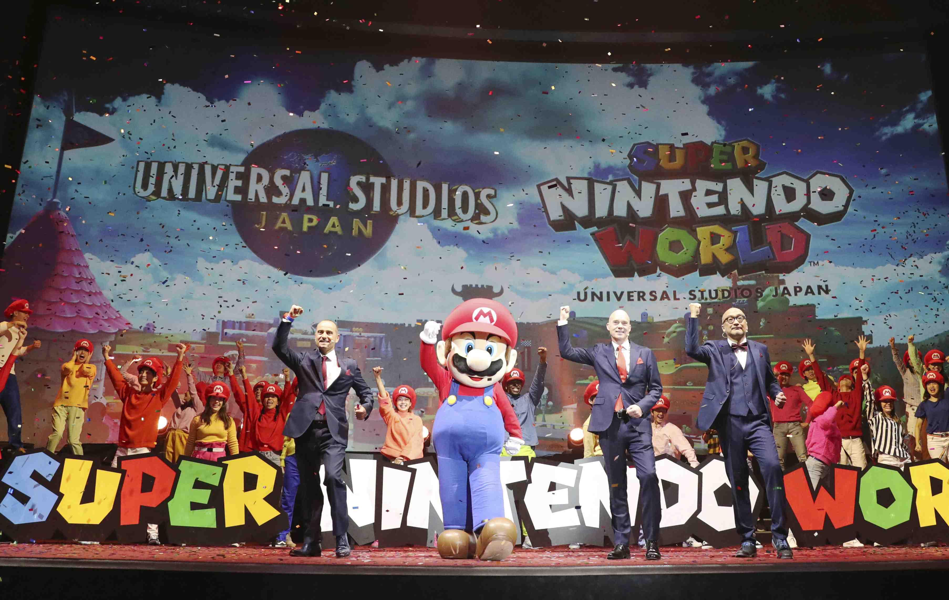 Nintendo Mario's World at USJ 002