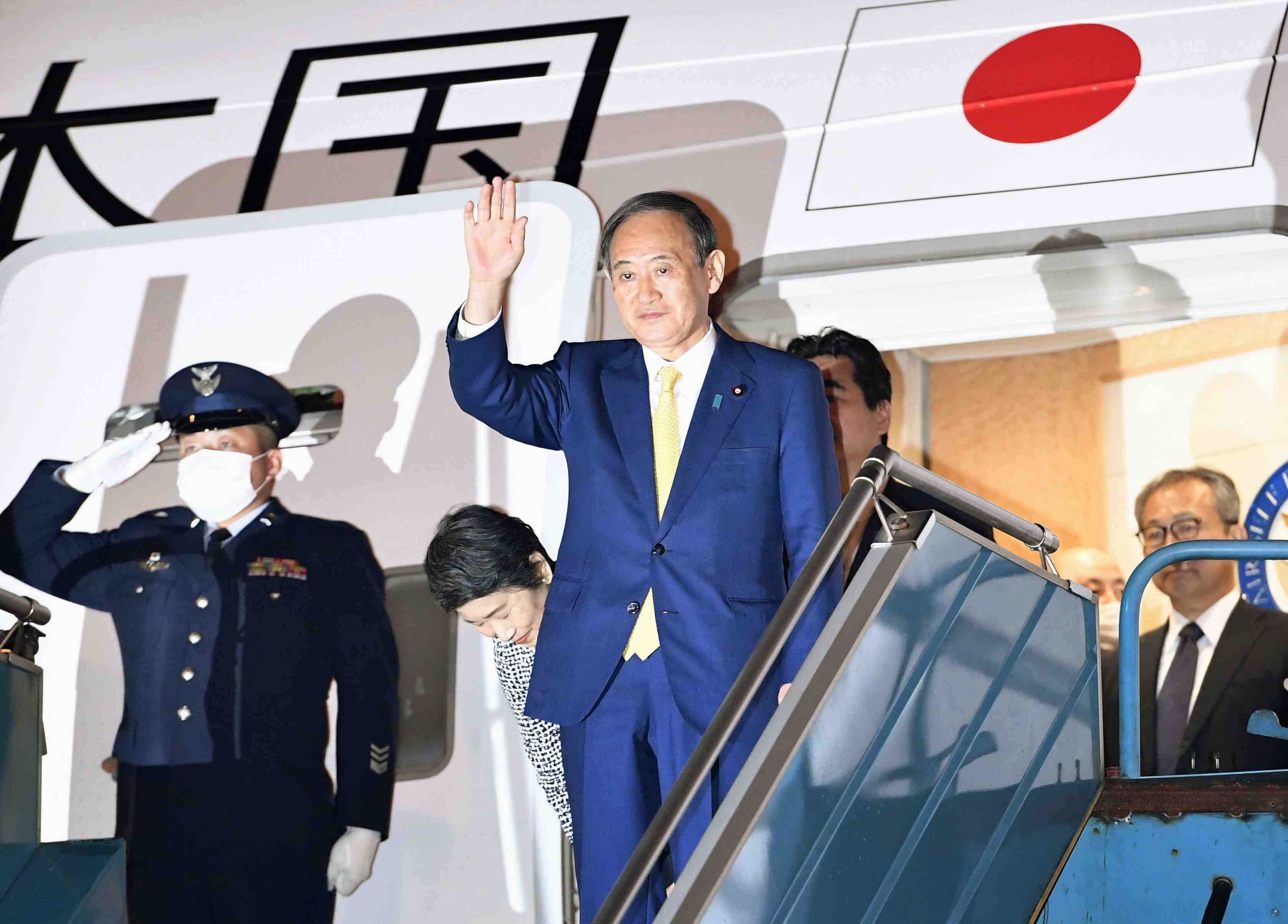 Prime Minister Yoshihide Suga's Trip to South East Asia 001