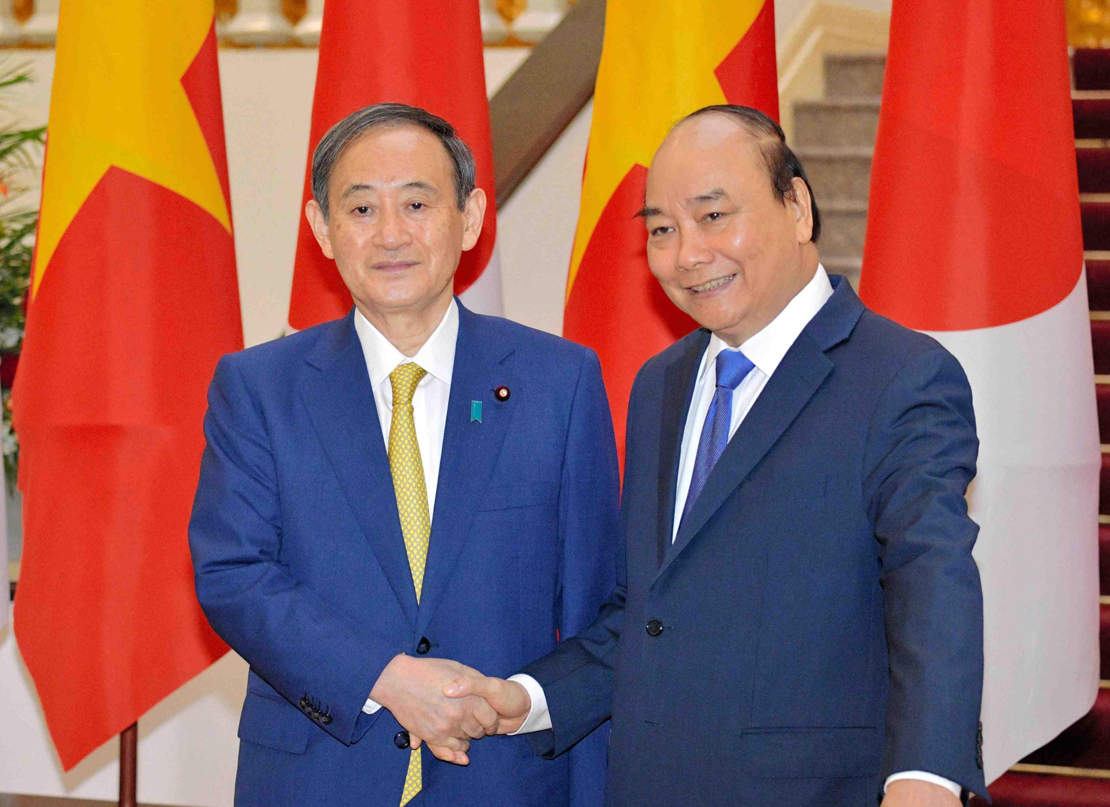 Vietnam Indonesia Japan PM Suga's visit 014