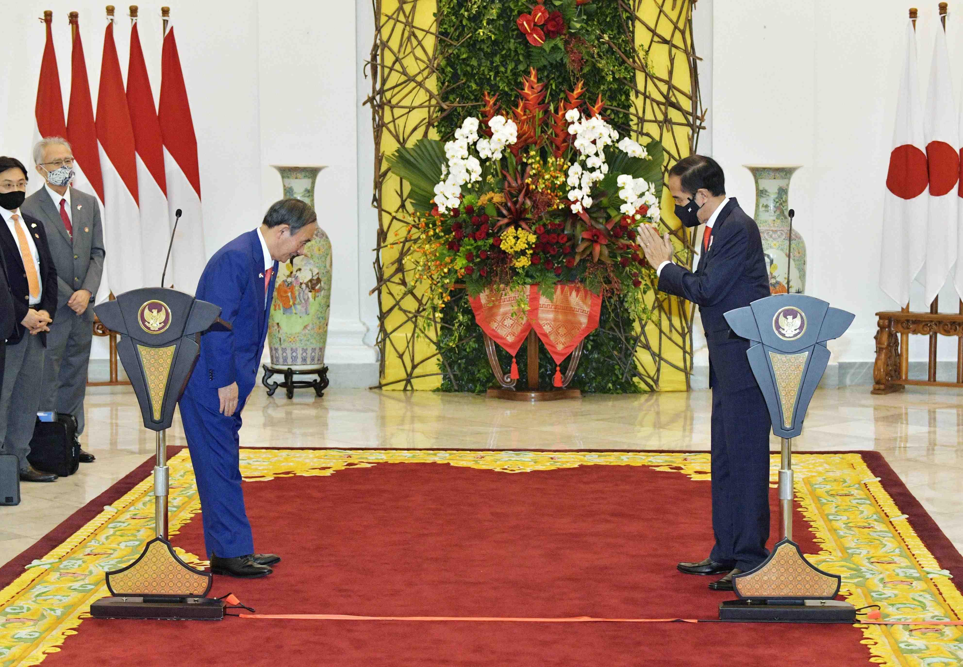 Vietnam Indonesia Japan PM Suga's visit 022