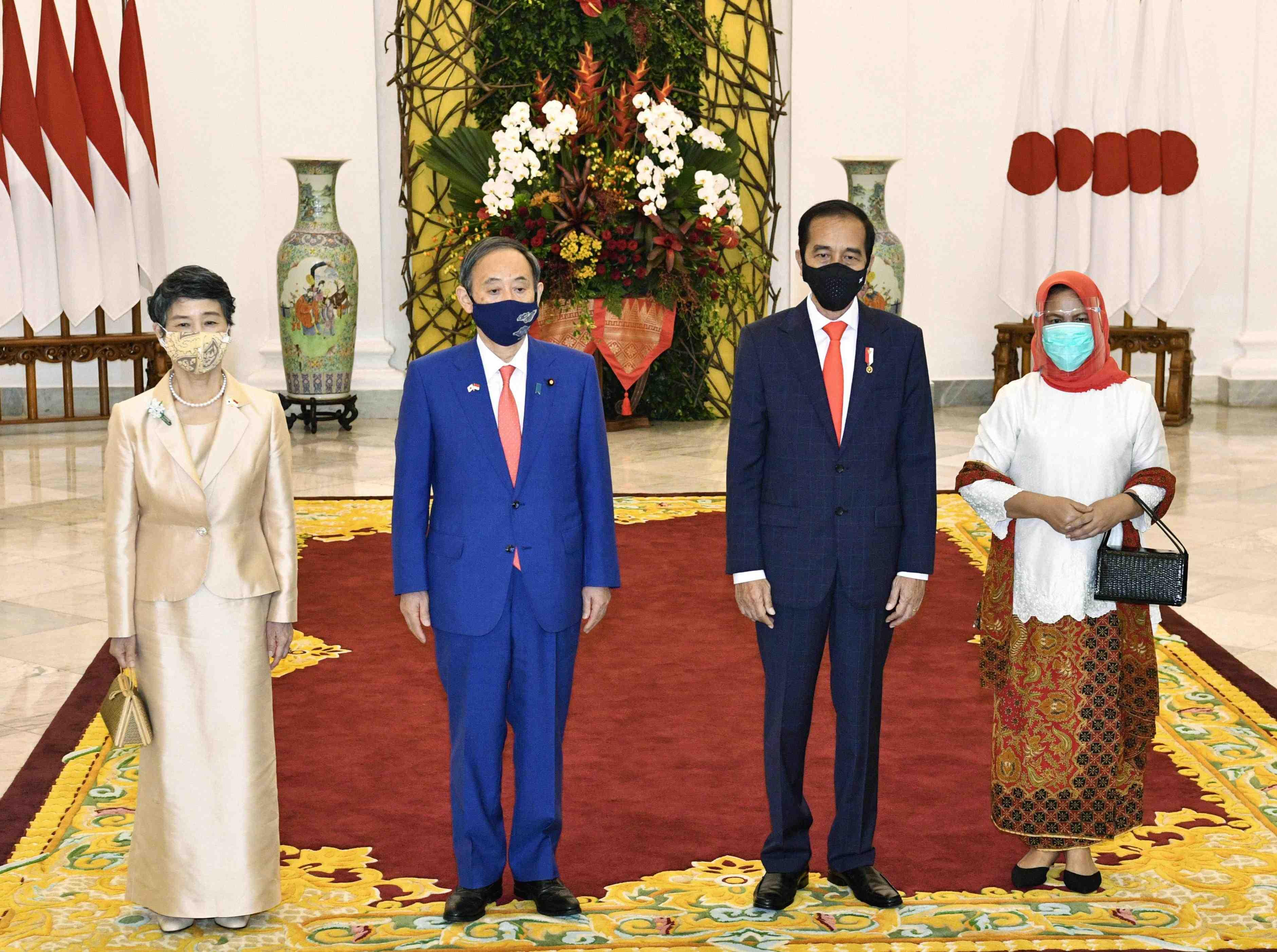 Vietnam Indonesia Japan PM Suga's visit 028