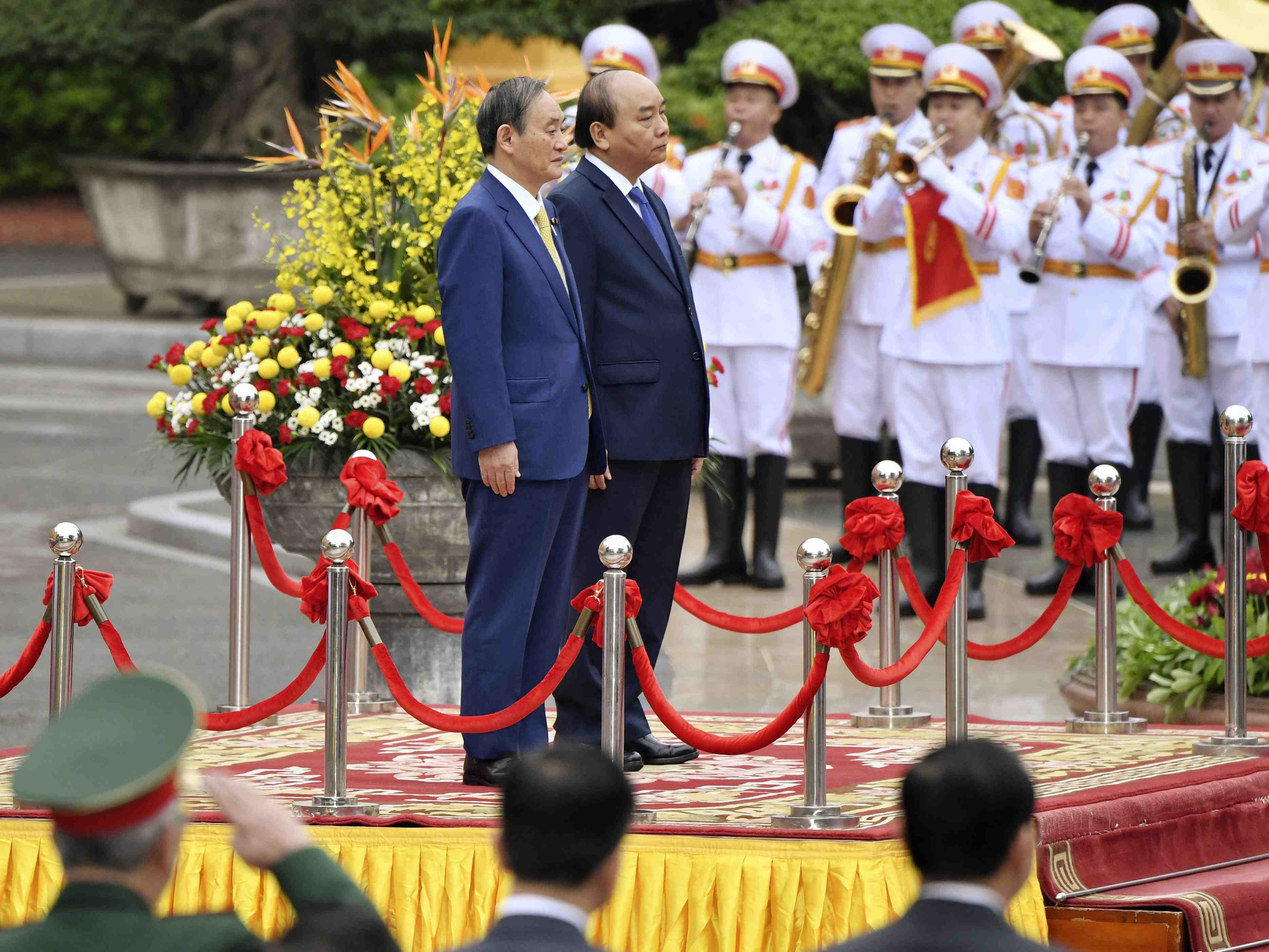 Vietnam Indonesia Japan PM Suga's visit 035