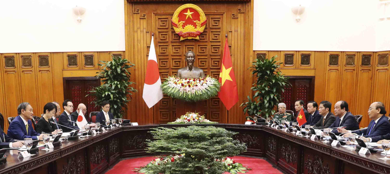 Vietnam Indonesia Japan PM Suga's visit 038
