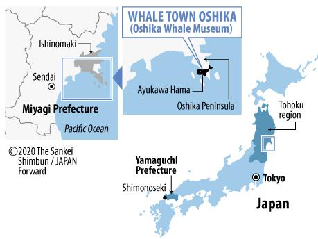 【JF】Map Whale Town Oshika_Oshika Whale Museum