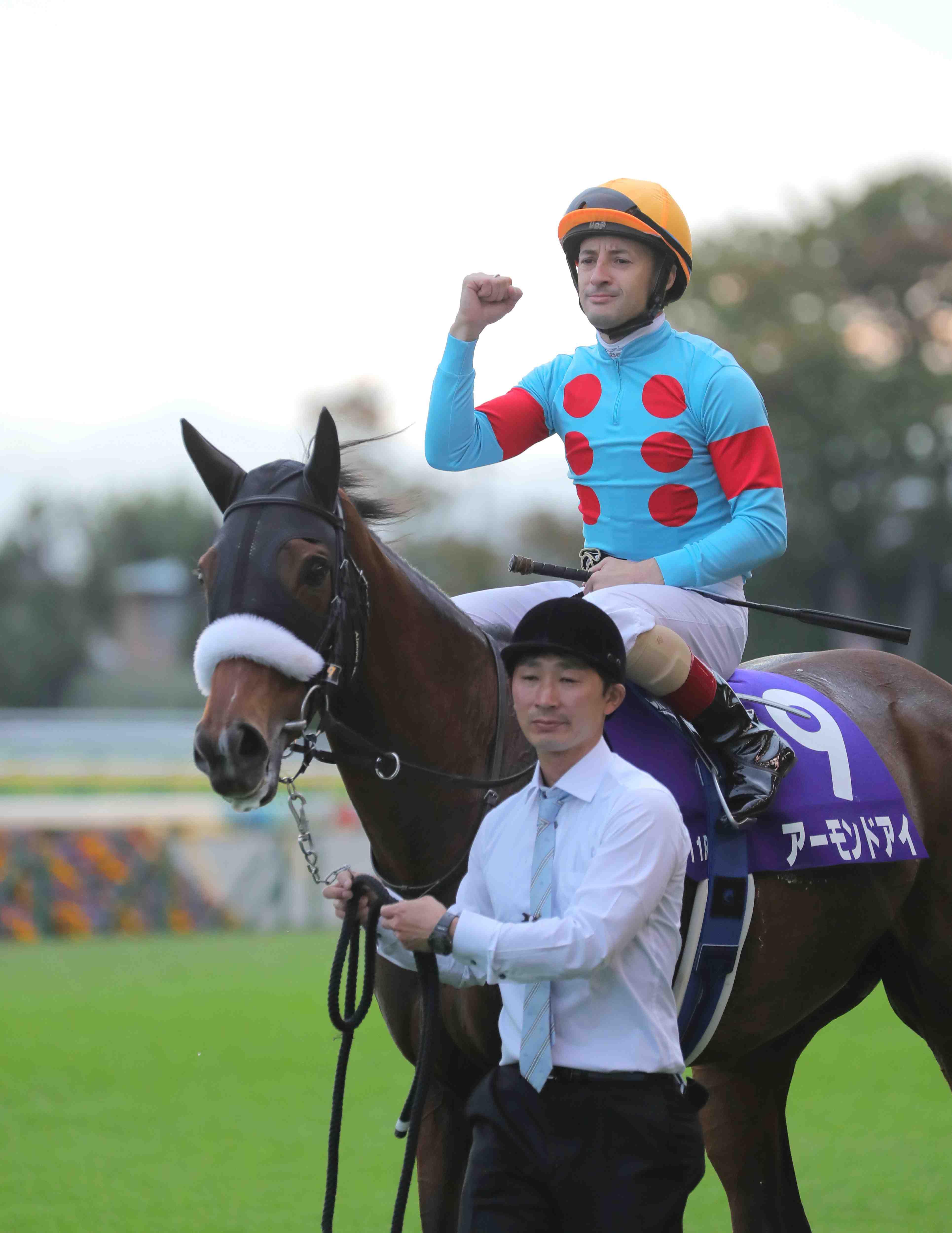 Almond Eye wins in Tenno Sho Autumn