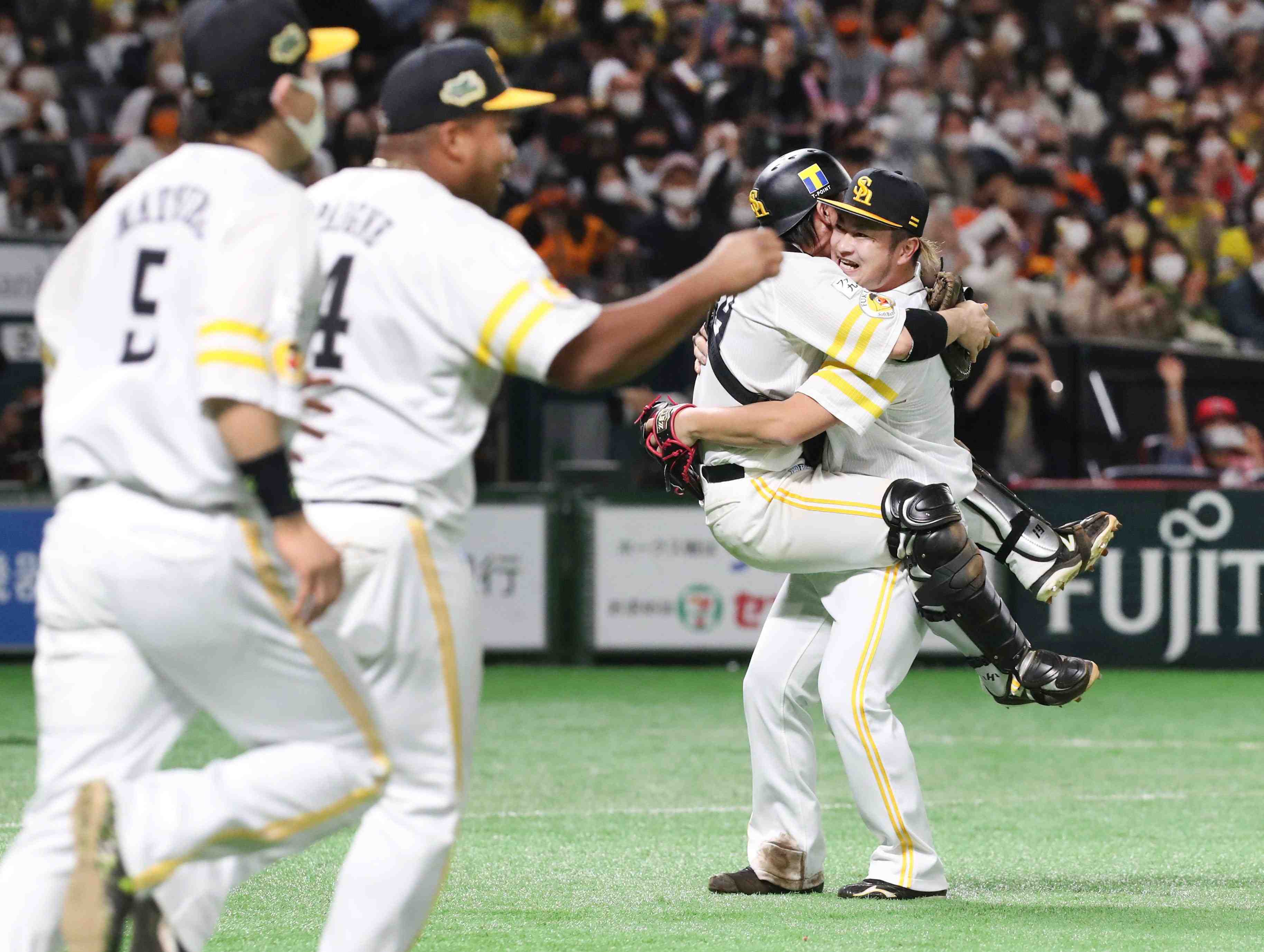 Baseball Winner Fukuoka SoftBank Hawks 024