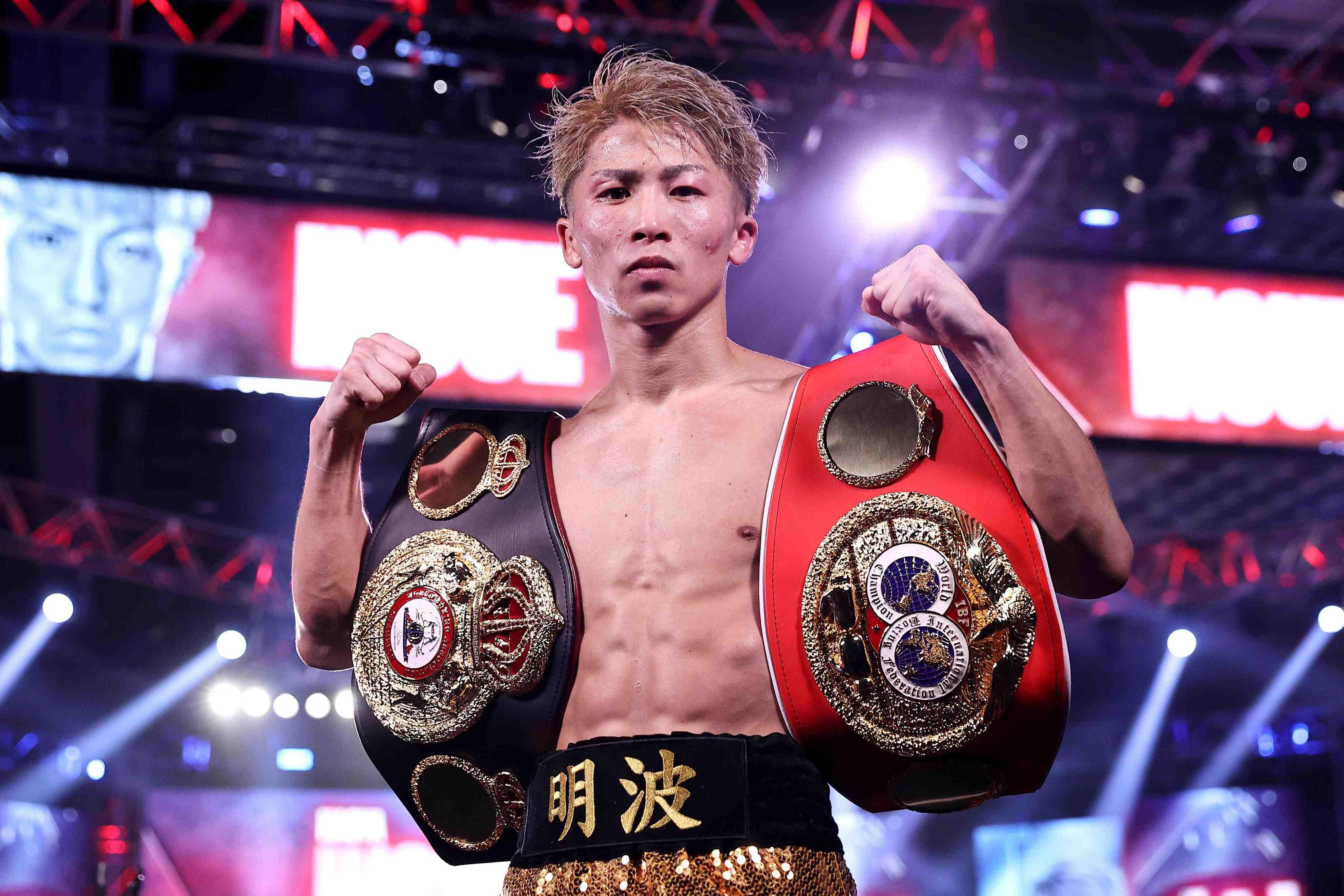 Boxing Naoya Inoue KOs Moloney at Las Vegas 004