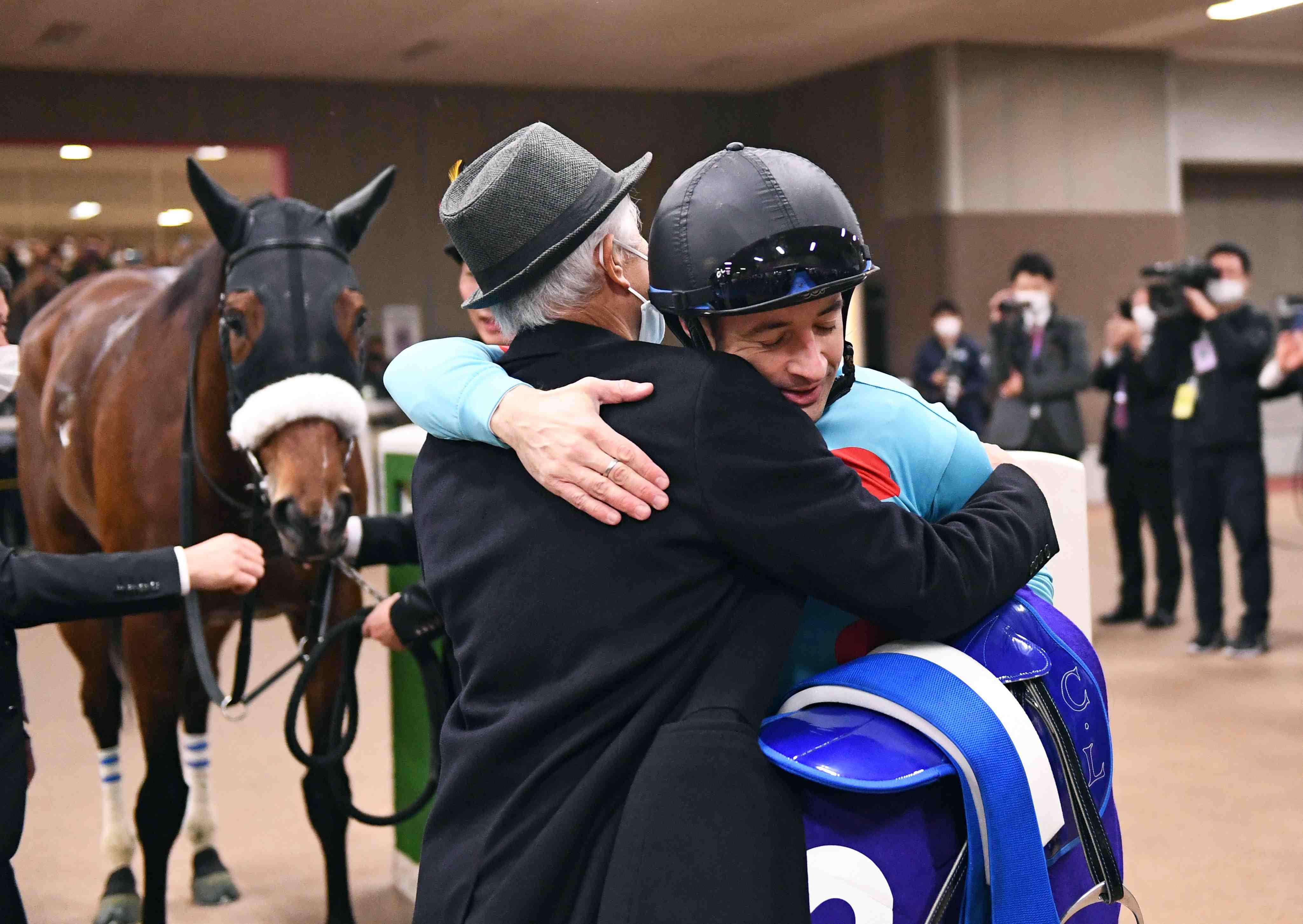 Horse Racing 40th Japan Cup Winner Almond Eye