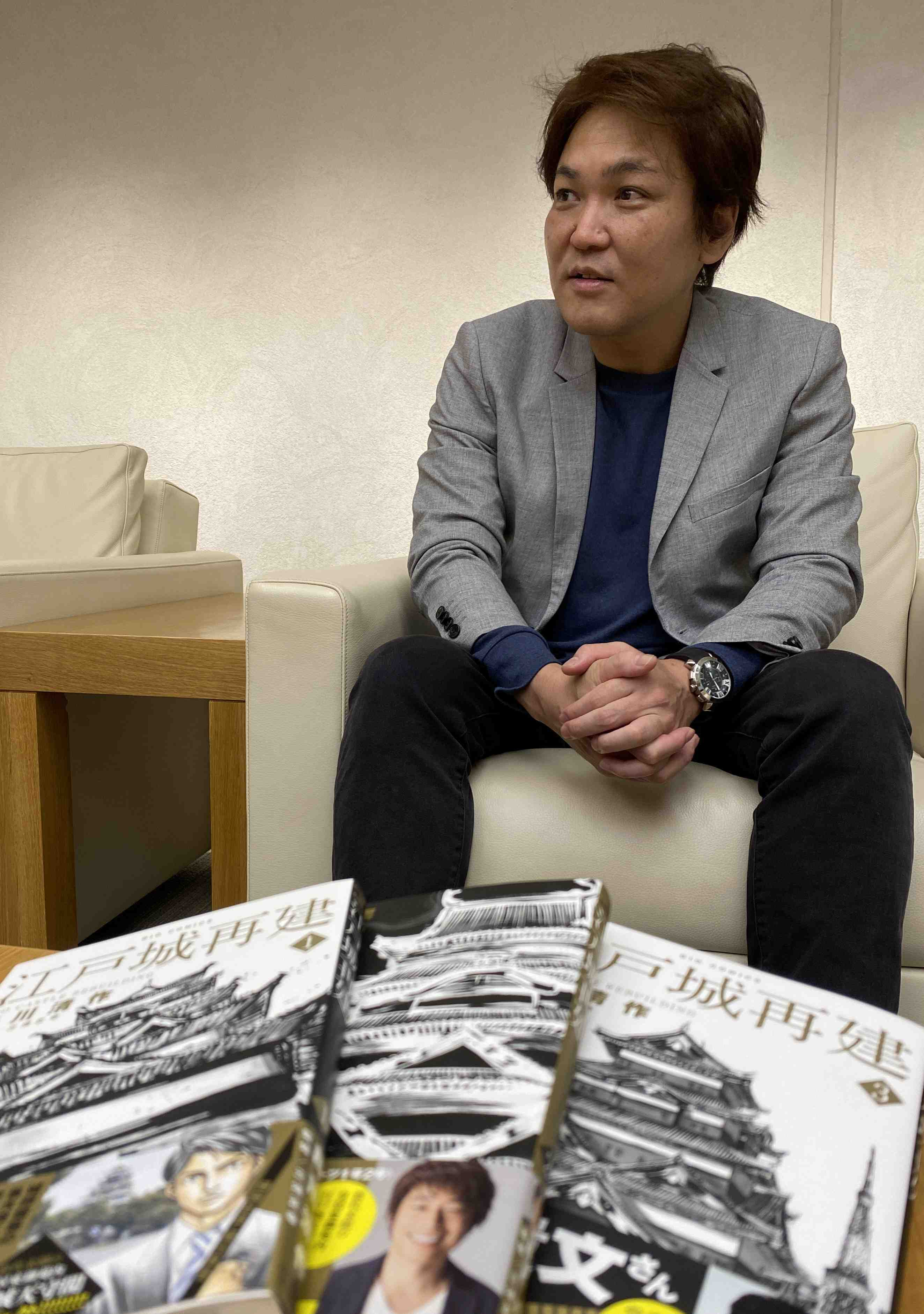 Manga Artist Releases Exciting Vision of Reconstructed Edo Castle Tower 006