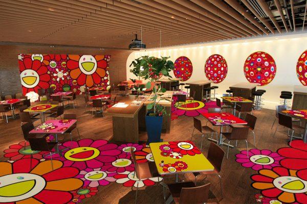 Ohana Cafe Takashi Murakami3