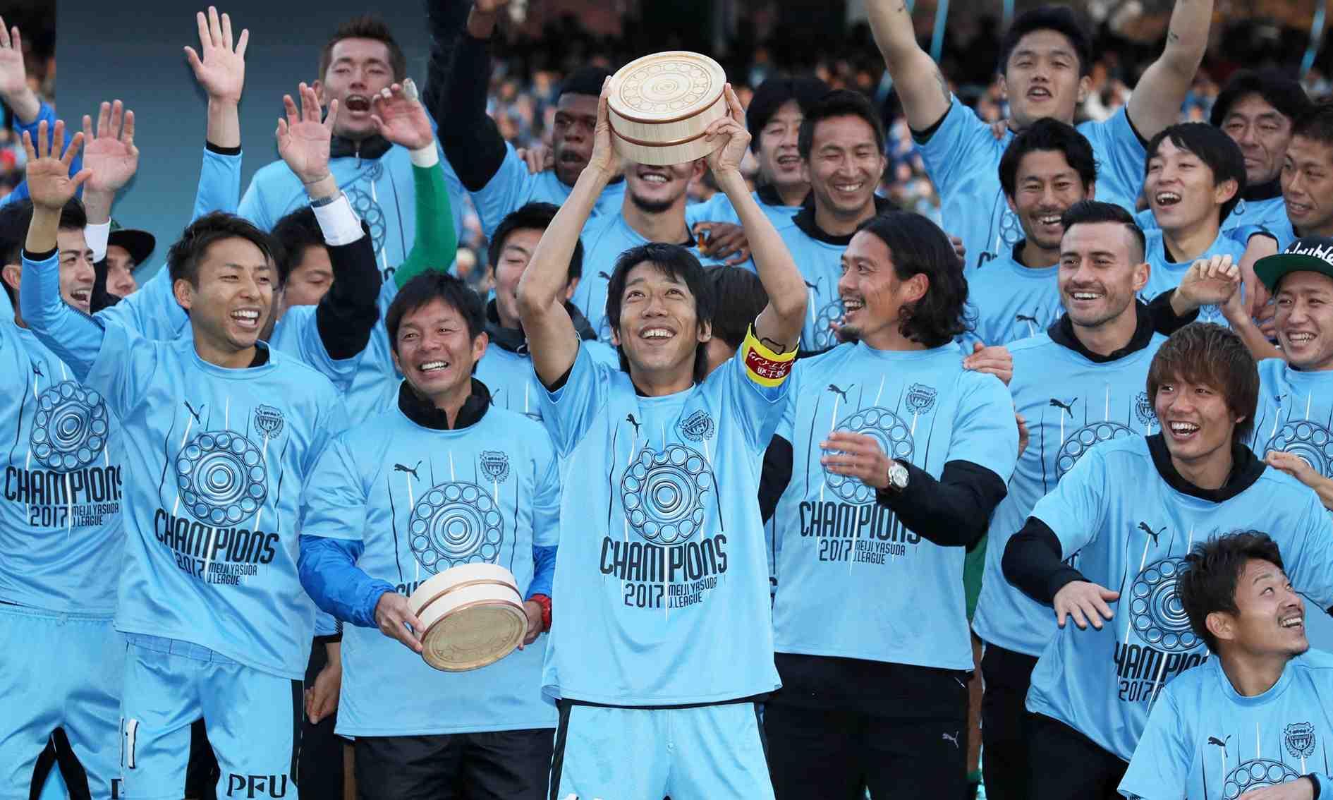 Soccer Kawasaki Frontale player Kengo Nakamura 010