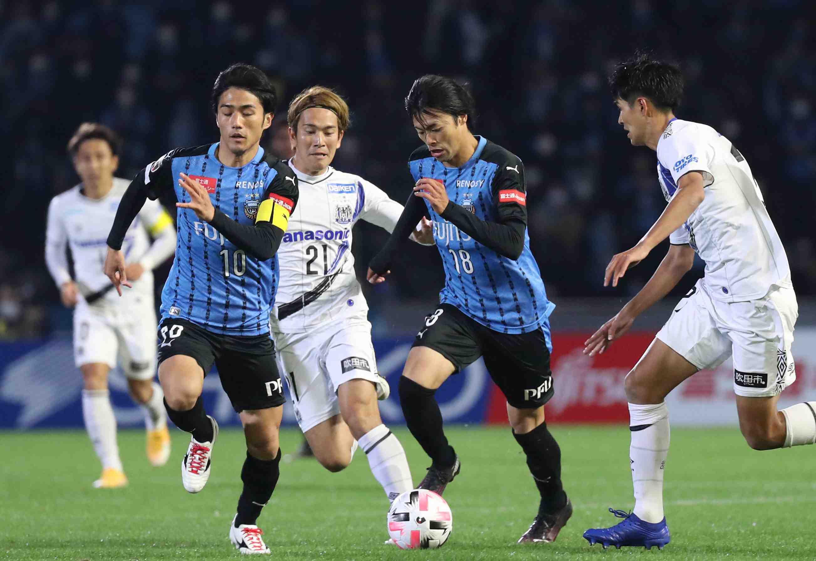 Soccer Winner J. League's Kawasaki Frontale