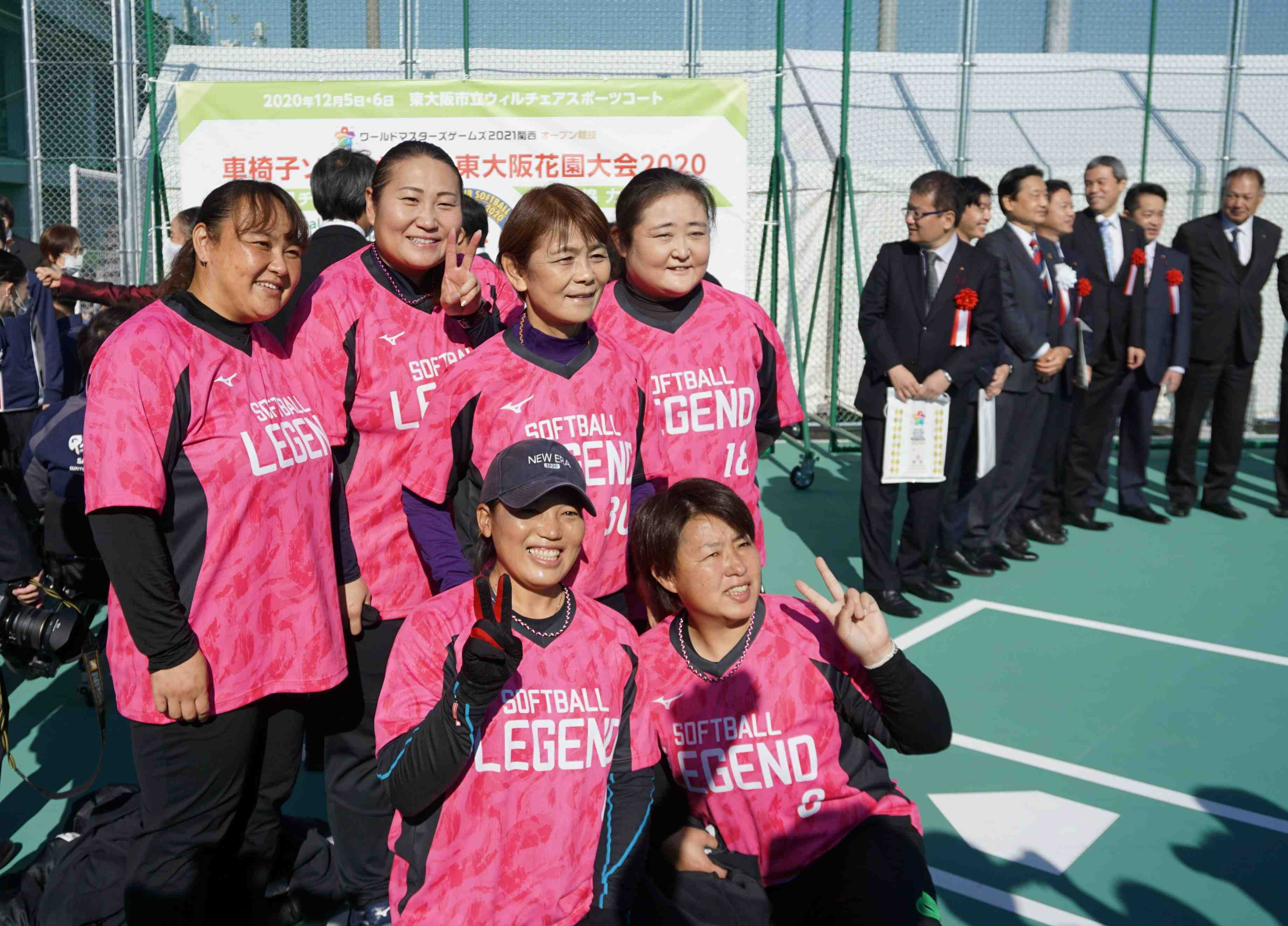 Wheelchair softball – First facility in Japan opened 001