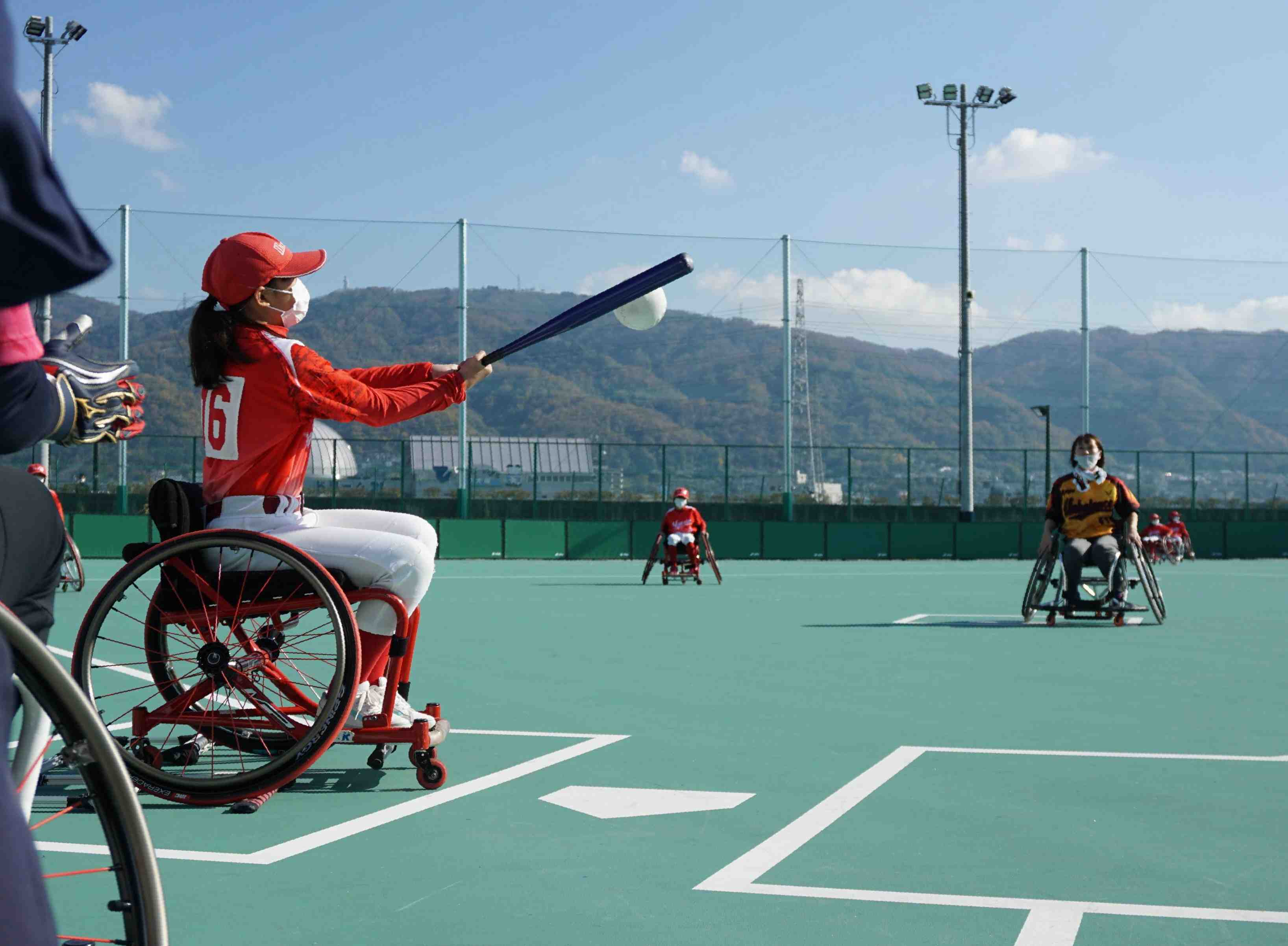 Wheelchair softball – First facility in Japan opened 005