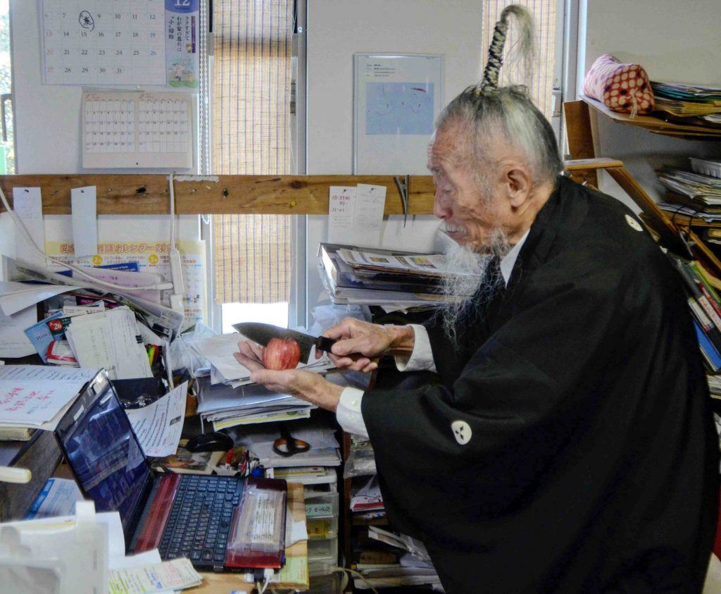 This image has an empty alt attribute; its file name is Japan-91-Year-Old-Last-Samurai-Goes-Online-005-1024x843.jpg