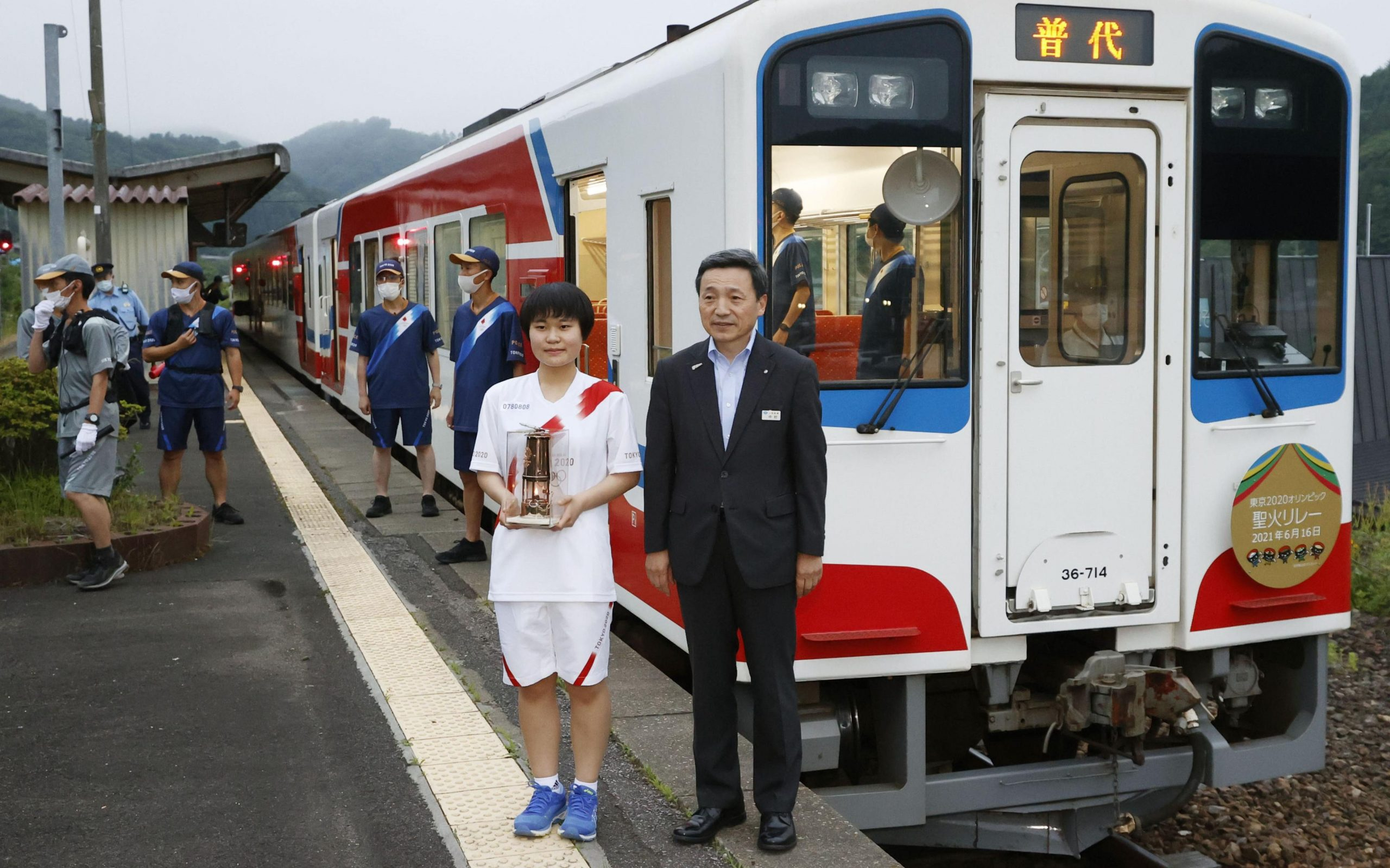 The Sanriku Railway was particularly heavily damaged in 2011 and only restored full operation in 2019. Now it is seen as a symbol of hope.