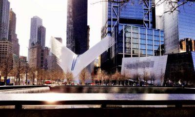 9/11 Twin Towers memorial New York
